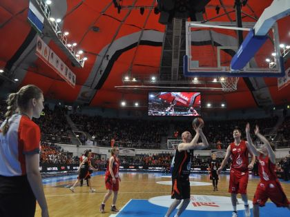 В финальных играх «КЭС-Баскет» приняли участие 32 лучших школьных баскетбольных клуба России