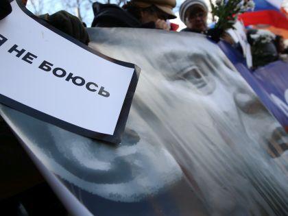27 февраля в Москве прошли траурные мероприятия в день первой годовщины убийства Бориса Немцова