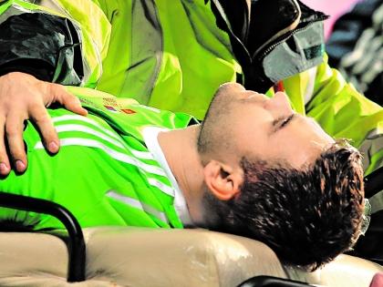 Матч продолжили, несмотря на травму Акинфеева