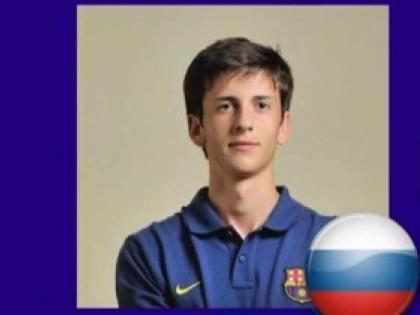 Амир Натхо выступает за юношескую команду «Барселоны»