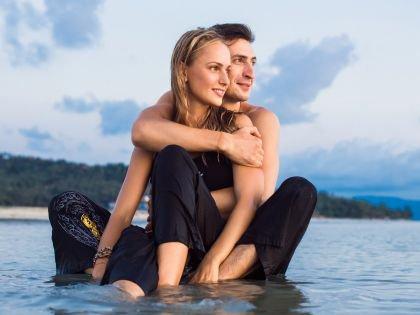Алексей Гаврилов с женой Мариной