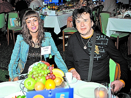 Александр Барыкин с женой Нелли