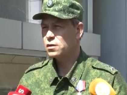 Замком корпусом Минобороны ДНР Эдуард Батурин