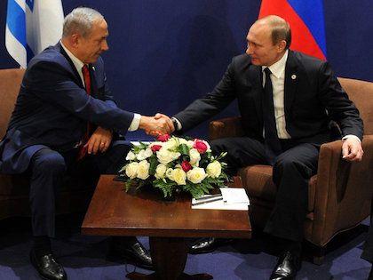 Владимир Путин с премьер-министром Израиля Биньямином Нетаньяху