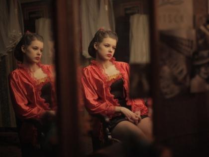 Катерина Шпица в образе Любы Шевцовой