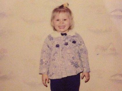 Шульгина в детстве