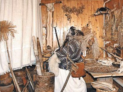 В Музее мифов и суеверий русского народа в Угличе
