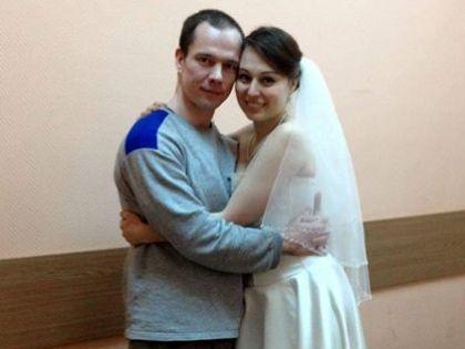 Ильдар Дадин с женой Анастасией Зотовой
