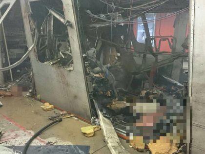 Последствия теракта в брюссельском метро