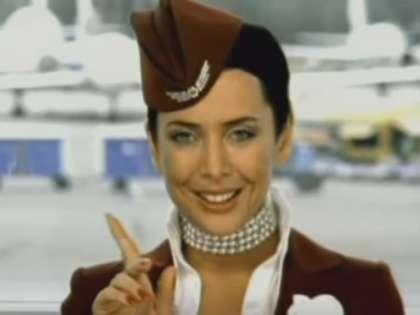 Жанна Фриске в клип «А я все летала»