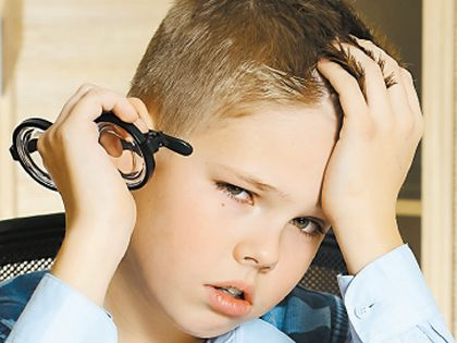 Эмоциональное давление родителей на ребенка приводит к еще большему переутомлению