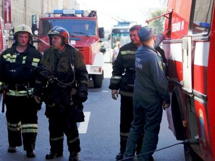При взрыве в учебном корпусе МВД пострадали курсанты