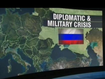 Территории Украины и РФ выделены одним цветом