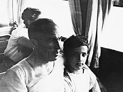 Александр Буйнов с папой