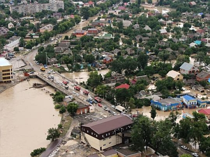 Наводнение в Крымске в 2012 году