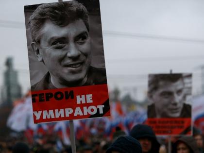 Марш в память о Борисе Немцове