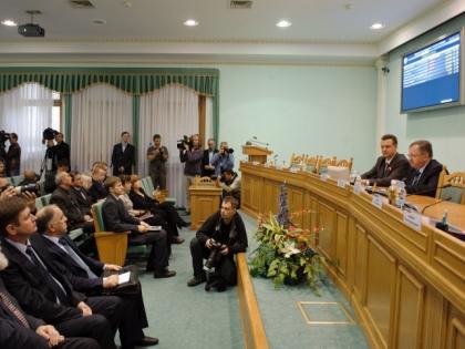Заседание ЦИКа Украины