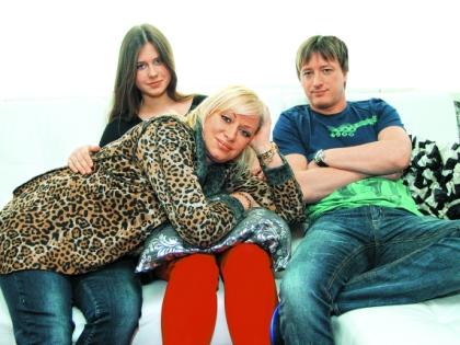 Наталия Гулькина с детьми