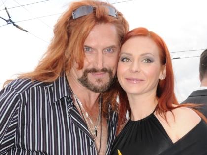 Никита Джигурда с женой