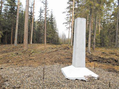 К 100-летию героя новый обелиск будет полностью готов