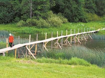 В Сычевке много проблем, и мост – одна из них