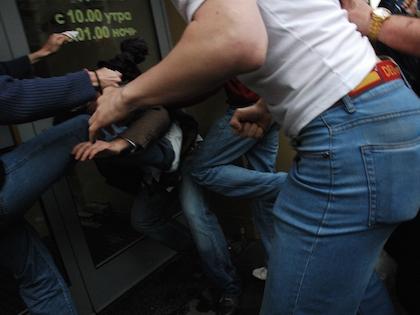 Инцидент произошёл близ станции Кольцевой линии метро «Новослободская»