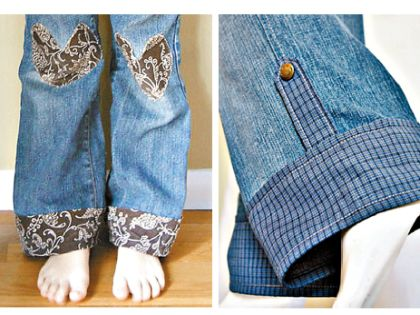 Вдохните жизнь в джинсы, из которых ваш ребенок уже вырос