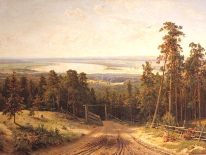 Елабуга на картине Ивана Шишкина