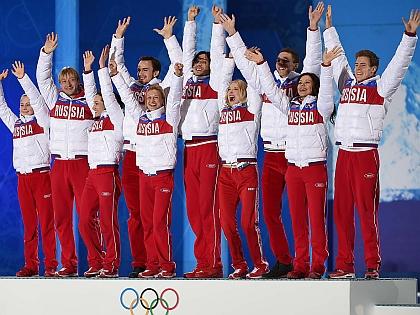 Российские фигуристы на ОИ-2014