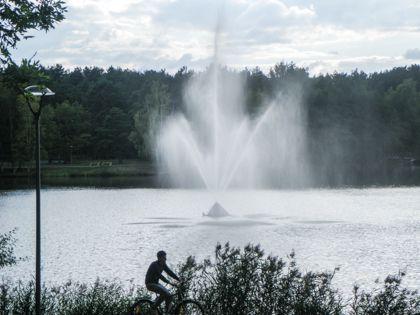 Одно из 12 озер курорта Друскининкай