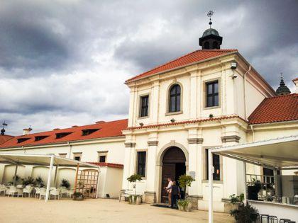 Пажайслисский монастырь недалеко от Каунаса
