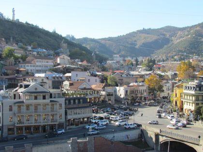 Старый город Тбилиси прекрасен в любую погоду