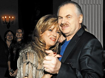 Елена Преснякова и Владимир Пресняков-старший