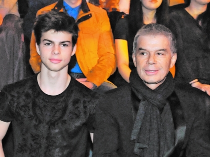 Газманов на съемки шоу привел своего второго сына Филиппа