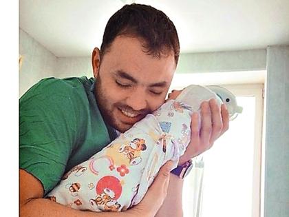 Александр Гобозов с сыном