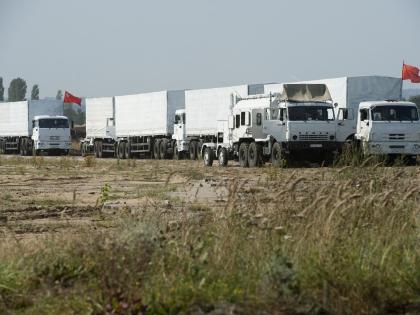 Конвой с гуманитарной помощью России для Украины