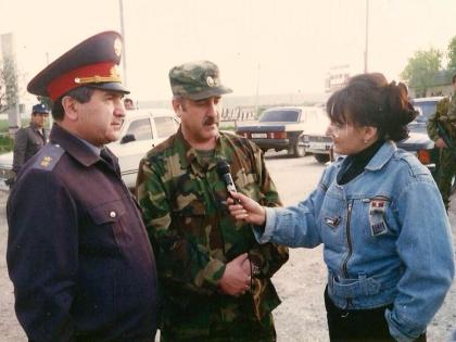 Фатима Хадуева в Чечне