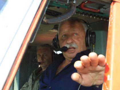 Полеты – главная страсть Леонида Аркадьевича