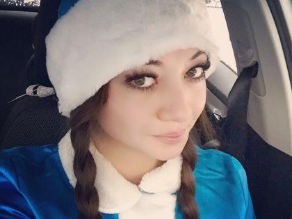 Водитель-Снегурочка Жанна