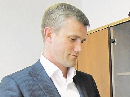 Мэр Приморска Николай Столяров