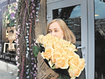 Корреспондент «Собеседник» ушла из магазина с охапкой прекрасных роз