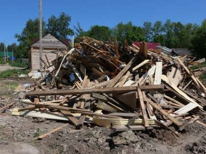 Власти планируют снести десятки нелегально построенных цыганских домов.