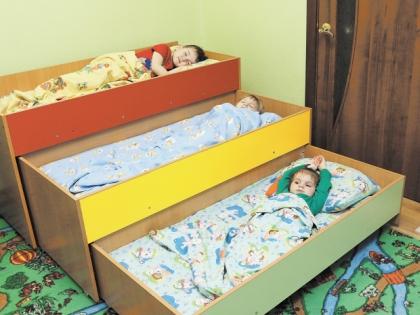 Тихий час в детском саду Теймуровых