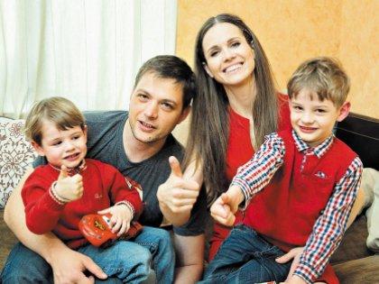 У Ивана и Натальи два сына: Марку 3 года, Егору 5 лет