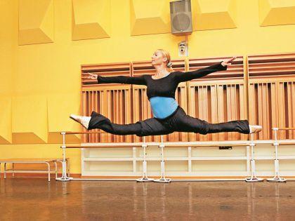 Балерина часами готовится к премьере