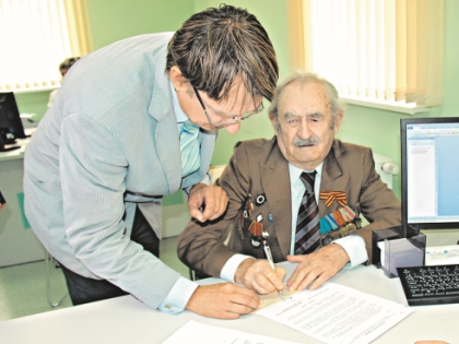 Ветеран Петр Кащенко ослеп