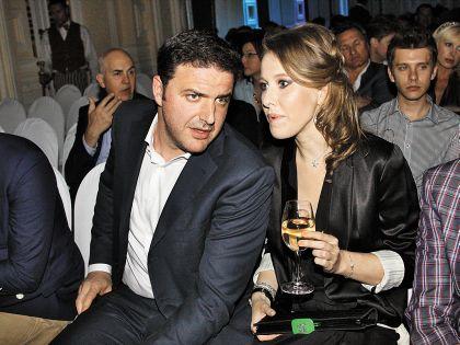 С мужем Максимом Виторганом