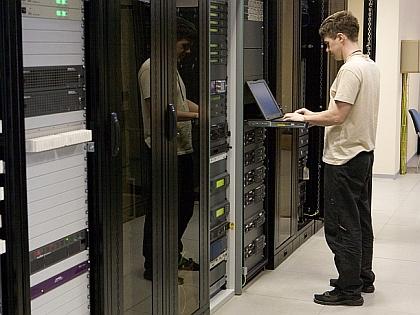 Человек с компьютером