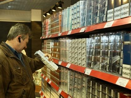 Газетным киоскам запретили продавать сигареты в 2014 году