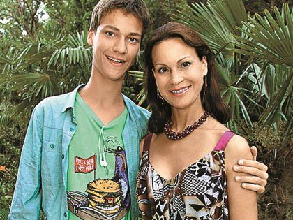 Ирина Чериченко с сыном Филиппом